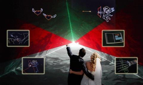 LAZER-TRON Leipzig - Lasershows - Hochzeiten